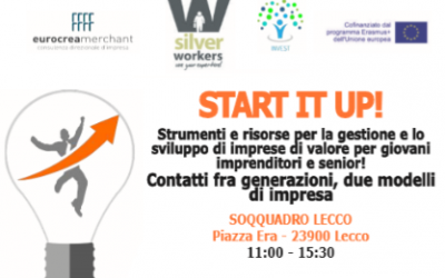"Multiplier Event ""START IT UP"" – Lecco (IT), 3/5/2018"